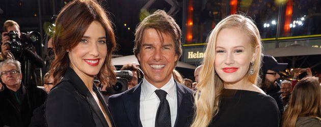 """Cobie Smulders, Tom Cruise und Danika Yarosh bei der Europapremiere von """"Jack Reacher 2"""""""