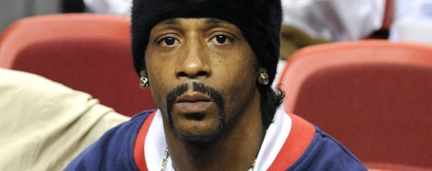 Comedian Katt Williams beim HEAT NBA Spiel: Chicago Bulls vs Miami