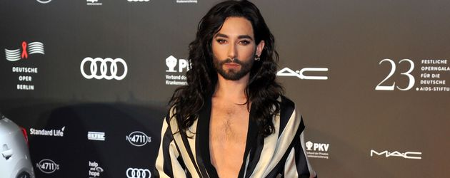 Conchita Wurst im November 2016 bei der AIDS-Gala in Berlin