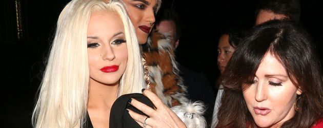 Courtney Stodden und Mutter Krista Keller bei der Los Angeles Fashion Week
