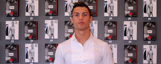 Cristiano Ronaldo bei dem Launch seiner Unterwäsche-Kollektion in Madrid