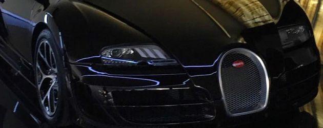 Cristiano Ronaldos Auto, ein Bugatti