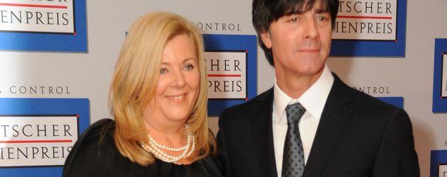 Daniela Löw und Joachim Löw auf dem German Media Award 2011