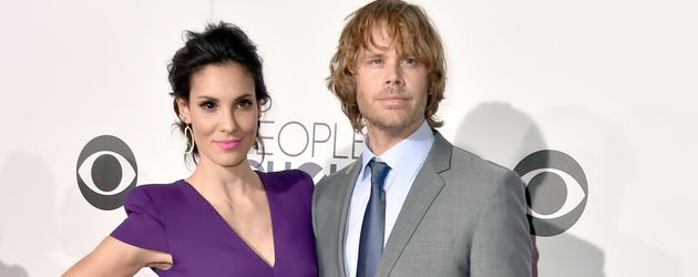 "Daniela Ruah mit Eric Christian Olsen beim ""People's Choice Awards"" in Los Angeles"