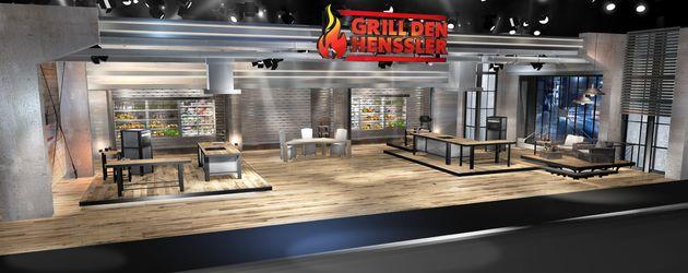 "Das ""Grill den Henssler""-Studio"