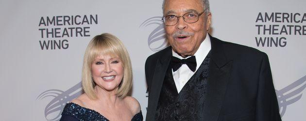 Cecilia Hart und ihr Ehemann James Earl Jones