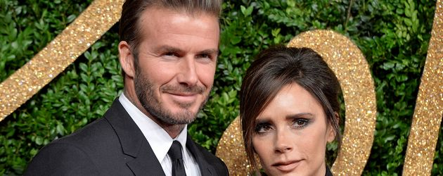 David und Victoria Beckham bei den British Fashion Awards in London
