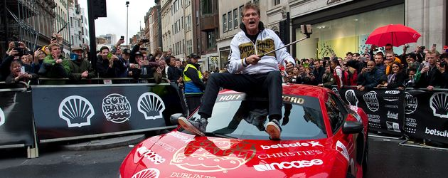 David Hasselhoff im Mai 2016 in London