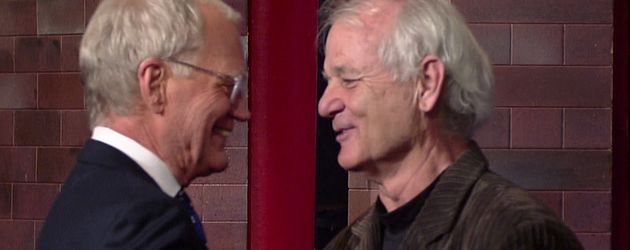 David Letterman und Bill Murray