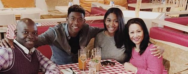 David Alaba und Rose May Alaba