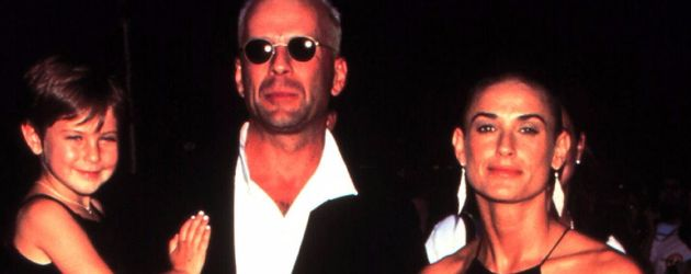 Hollywood-Stars Bruce Willis und Demi Moore