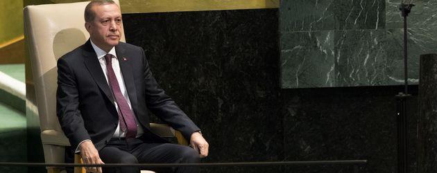 Der türkische Staatspräsident Recep Erdogan