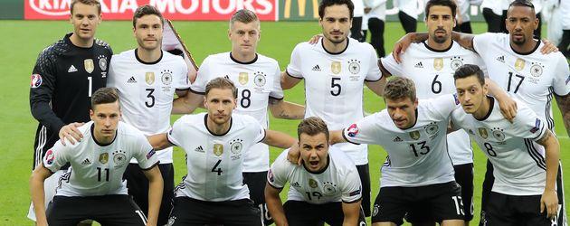 DFB-Elf vor dem EM-Spiel gegen Polen