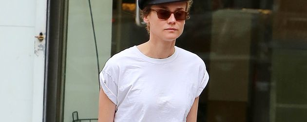 Diane Kruger im West Village in New York