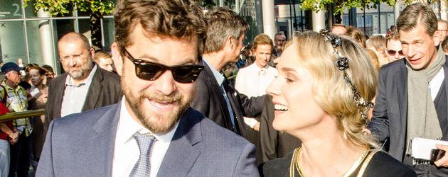 Diane Kruger und Joshua Jackson im Jahr 2014