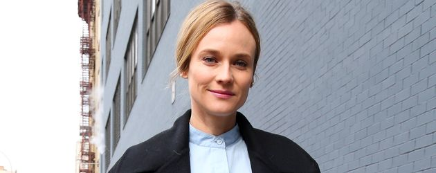 Diane Kruger vor der Jason Wu Fashion Show in New York City
