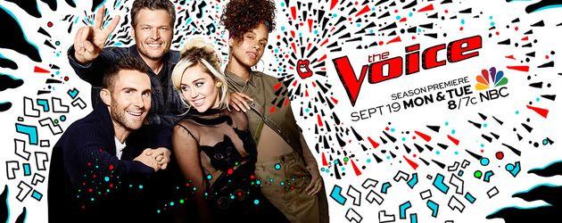"""Die amerikanische """"The Voice""""-Jury"""