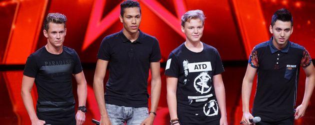 "Die Boyband ""Square"" aus Holland"