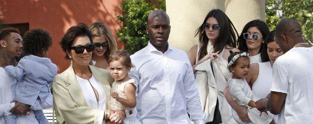 Khloe Kardashian, Tyga, Kylie Jenner, Kim Kardashian, North West, Kendall Jenner, Kris Jenner, Penel