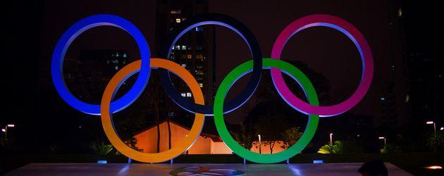 Die Olympischen Ringe 2016