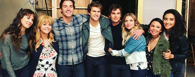 "Die Stars von ""Pretty Little Liars"""