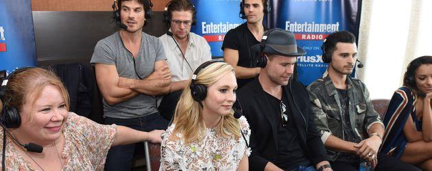 """Die """"Vampire Diaries""""-Crew bei """"SiriusXM"""""""