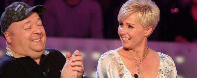 """Dirk Bach und Sonja Zietlow beim Prominenten-Special von """"Wer wird Millionär?"""""""
