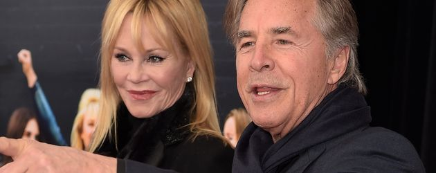 Melanie Griffith und Don Johnson