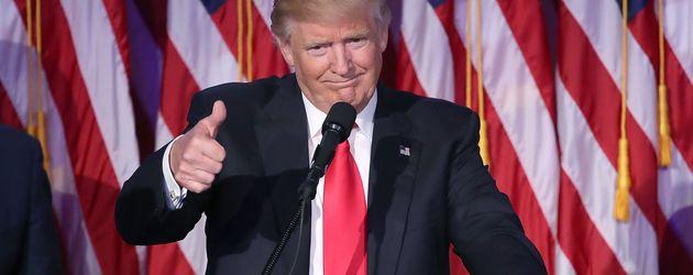Donald Trump, 45. Präsident der Vereinigten Staaten von Amerika