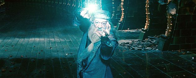 Hogwarts-Schulleiter Albus Dumbledore (Michael Gambon)
