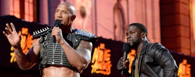"Dwayne ""The Rock"" Johnson und Kevin Hart"