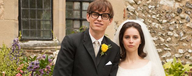Eddie Redmayne und Felicity Jones