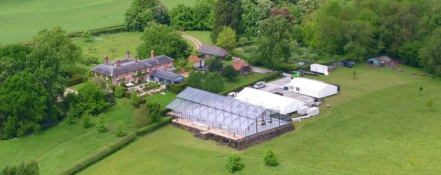 Pippa Middletons Hochzeits-Glaspavillon