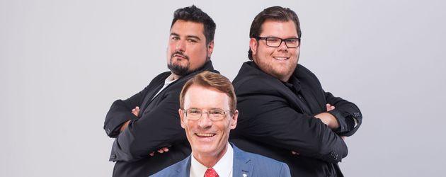 """Elvis, Walther und Dennis von """"Traumfrau gesucht"""""""