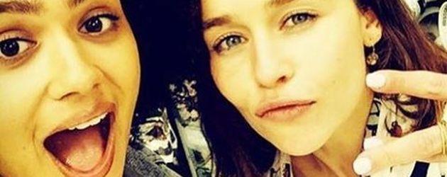 Nathalie Emmanuel gratuliert Emilia Clarke auf ihrem Instagram-Profil zum 30.