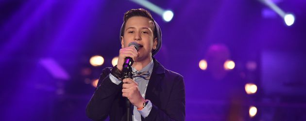 "Eric bei ""The Voice Kids"""