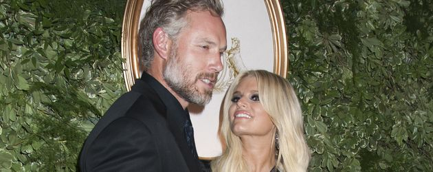 Eric Johnson und Jessica Simpson im September 2015 in New York