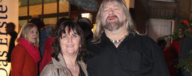 Ex-Big-Brother-Star Harry Schmidt mit seiner Ehefrau in Hamburg