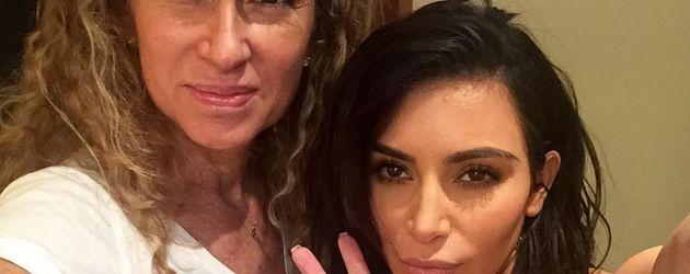 Fabiola Trujillo und Kim Kardashian