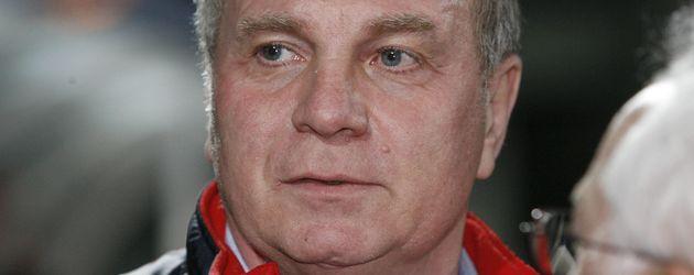 FC Bayern Star Uli Hoeneß