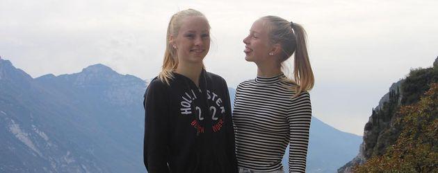 Social-Media-Stars Finja und Svea am Gardasee