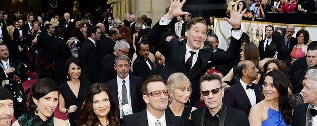Benedict Cumberbatch und U2