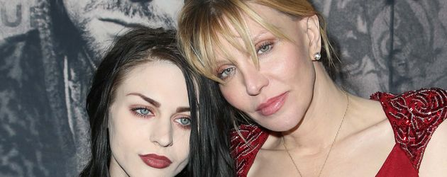 Frances Bean Cobain und ihre Mutter Courtney Love