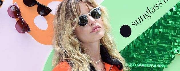"Georgia May Jagger beim New Yorker Event ""Refinery29 x Sunglass Hut 'Shades Of You'"""