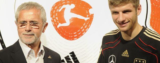 Thomas Müller und Gerd Müller