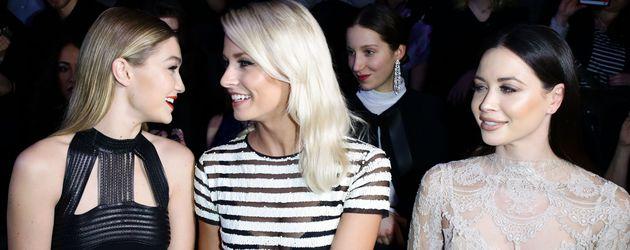 Gigi Hadid, Lena Gercke, Mandy Capristo und Berlin Fashion Week