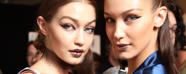 Gigi und Bella Hadid auf der Mailand Fashion Week