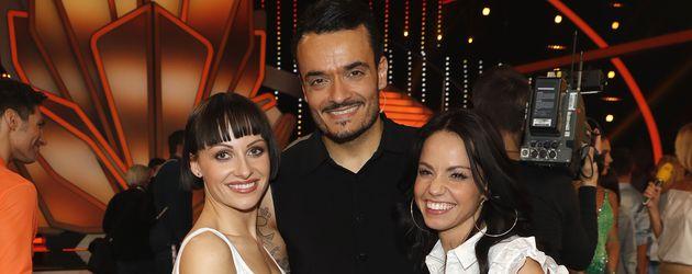 Giovanni Zarrella mit Marta Arndt und Christina Luft
