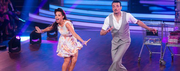 """Giovanni Zarrella und Christina Luft bei """"Let's Dance"""""""
