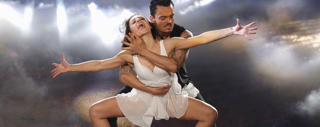 """Giovanni Zarrella und Marta Arndt während der fünften Show von """"Let's Dance"""""""